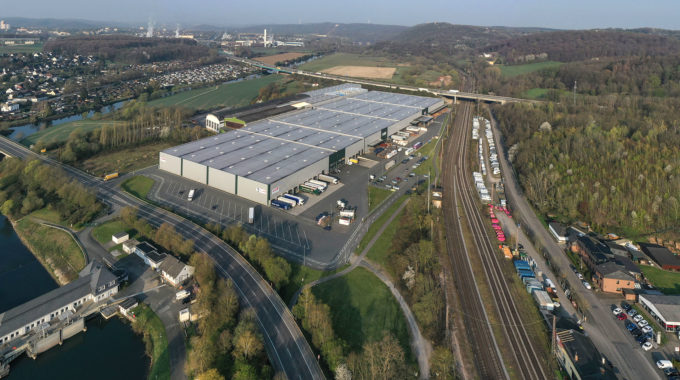 Gewerbegebiet: Brüninghaus – Schäflein Logistics / KSK