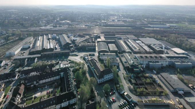 Gewerbegebiet: Hoesch – Hundhausen – Deutsche Nickel